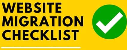 [Infographic] Website Migration Checklist [2018 Updated]