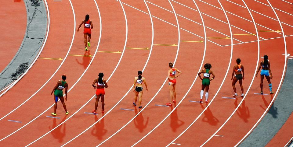 an image of female athletes