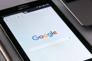 image of mobile on google homepage