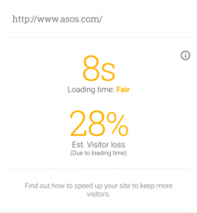 ASOS Lost Users Technical SEO