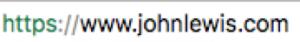 John Lewis URL Structure Technical SEO
