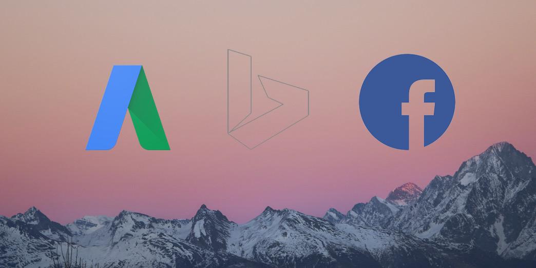 AdWords vs Bing Ads vs Facebook Ads